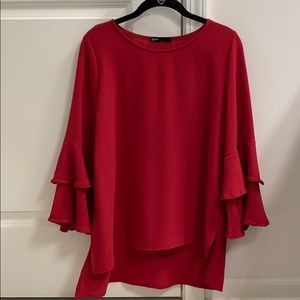 Gibson Top from Nordstrom, Size: XS, Red